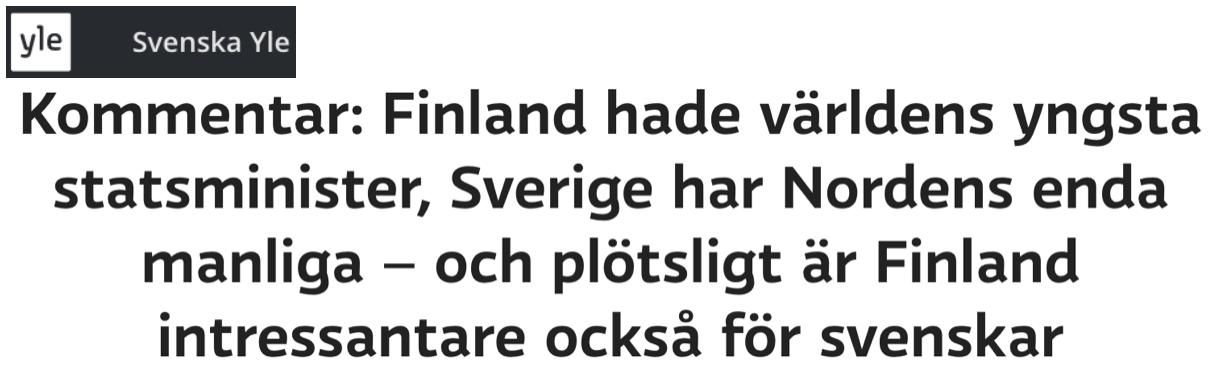 Finland blev plötsligt lite intressantare för svenskar…